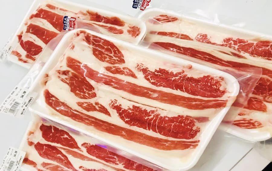Đóng gói cẩn thận trong hộp hoặc túi nilon để bảo quản thịt được tốt nhất!